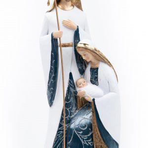 Mark Roberts Blue/Gold Nativity Family