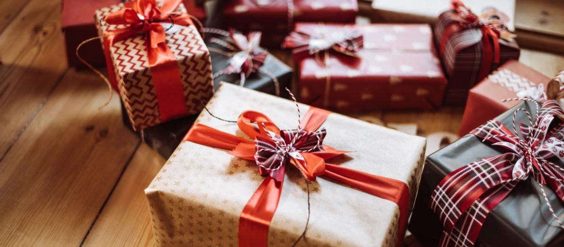 christmas gift at home